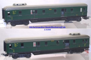 """Märklin 4012.3 (346/4) Schürzenwagen """"Gepäckwagen"""", (13198)"""