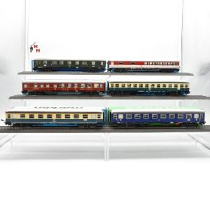 "Märklin 4027.999 Wagengarnitur ""D-Zug-Wagen"", beleuchtet, Funktionsdecoder, (23183)"