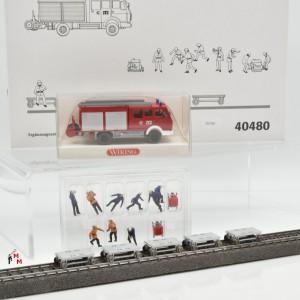 """Märklin 40480 Ergänzung """"Tunnelrettungszug"""", (20390)"""