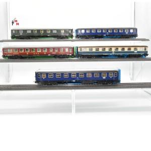 """Märklin 4053.999 Wagengarnitur """"D-Zug Wagen der DB"""", beleuchtet, Funktionsdecoder, (23106)"""