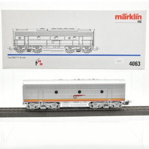 Märklin 4063.10 Ergänzungsteil für Diesellok F 7 Santa Fe, (22245)