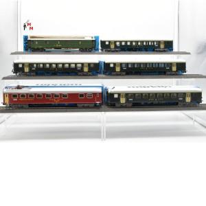"""Märklin 4066.999 Wagengarnitur """"Schweizer Personenzug"""", beleuchtet, Funktionsdecoder, (23174)"""