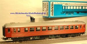 Märklin 4072.3 D-Zug-Wagen der SJ, beleuchtet, (7313)