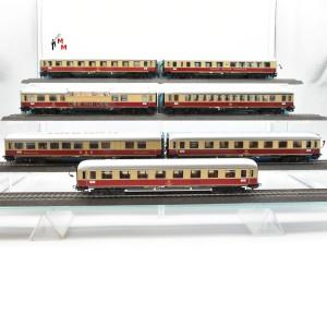 "Märklin 4089.999 Wagengarnitur ""TEE-Wagen"", beleuchtet, Funktionsdecoder, (23092)"