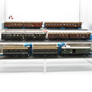 """Märklin 4103.999 Wagengarnitur """"Nahverkehrswagen der KPEV"""", beleuchtet, Funktionsdecoder, (23094)"""