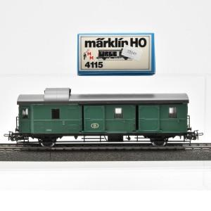 Märklin 4115 Donnerbüchse-Gepäckwagen der SNCB, (22345)