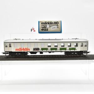 """Märklin 4122 Ausstellungswagen, Abbild. """"Märklin Personenzug"""", (25595)"""