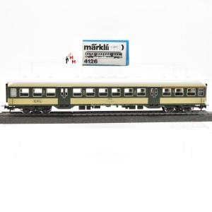 Märklin 4126.1 Nahverkehrswagen 1./2.Kl. der CFL, (21657)