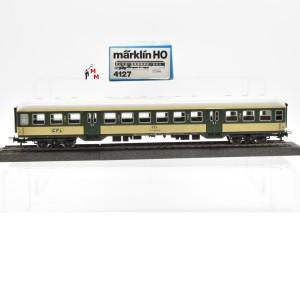 Märklin 4127.1 Nahverkehrswagen 2.Kl. der CFL, (22305)