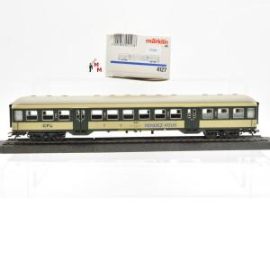 "Märklin 4127.10 Nahverkehrswagen 2.Kl. der CFL, ""Rendez-vous"", (22305)"