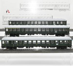Märklin 41273 Wagen-Set Nahverkehrswagen der CFL, (22580)