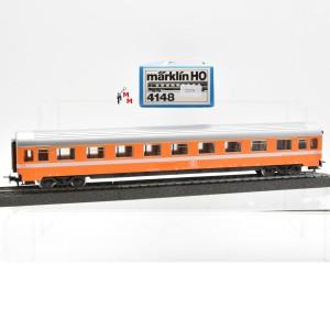 Märklin 4148.1 Eurofirma Wagen 1.Kl. der SNCB, (22331)