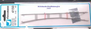 Viessmann 4150 Universal Fahrdraht 140-160mm, (5er Pack), (13435)