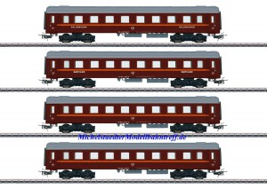 (Neu) Märklin 41921 Personenwagen-Set zur Reihe Da, BJ, Ep.VI,
