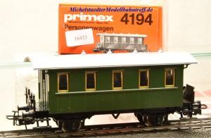 Primex 4194.1 -2achsiger Plattformwagen, (16433)