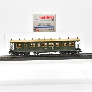 Märklin 4210 Schnellzugwagen 3.Kl. der K.W.St.E.B., (25080)