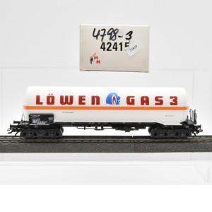 """Märklin 42415 Gas-Kesselwagen """"Löwen Gas 3"""", (21839)"""