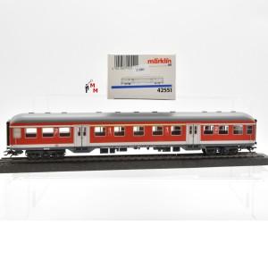 Märklin 42551 Regionalbahnwagen 1./2.Klasse DBAG, (21880)