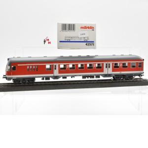 Märklin 42571 Nahverkehrs-Steuerwagen, DB AG, (21878)