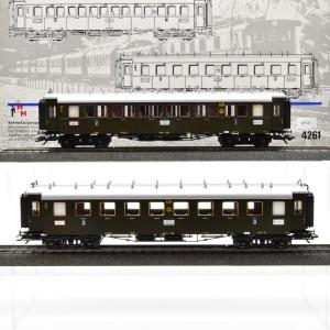 Märklin 4261 Schnellzugwagen der DRG, (25741)