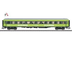 """(Neu) Märklin MHI 42956 Schnellzugwagen 2Kl., """"Flixtrain"""","""