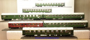 Märklin 42980 Interzonen-Zug DR/DDR, Ep.IV, (5 Wagen), (9633)