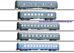 (Neu) Märklin 42982 Reisezugwagen der DR, (DDR),