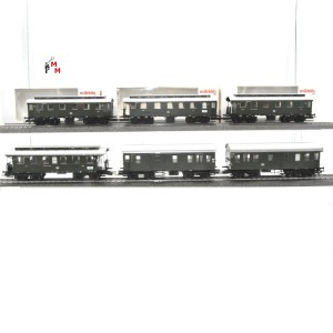 """Märklin 43080.999 Wagengarnitur """"Langenschwalbacher der DB"""", 6-teilig, beleuchtet, (23091)"""