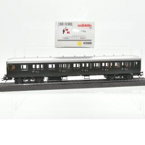 Märklin 43100 Abteilwagen DB, 2./3.Kl., (21889)