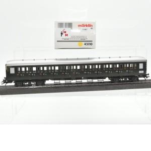 Märklin 43110 Abteilwagen DB, 3.Kl., (21887)