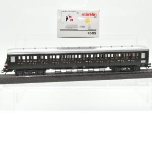 Märklin 43119 Abteilwagen DB mit Schlußlichter, (21888))