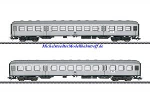 (Neu) Märklin 43147 Wagen-Set Silberlinge, DB Ep.IV,