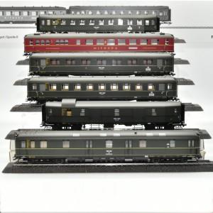 Märklin 43256 Wagenset Schnellzugwagen der DRG,, passend zu Märklin 39053, (25744)