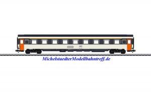 (Neu) Märklin 43281 Eurofima Abteilwagen 1.Kl., SNCF, Ep. IV,