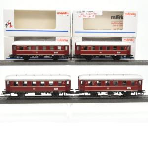 "Märklin 4335.999 Wagengarnitur ""Nebenbahnwagen"", beleuchtet, Funktionsdecoder, (23251)"