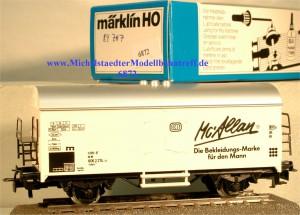 "Märklin 4415/84707 ""Mc Allan Die Bekleidungs-Marke.."", (6872)"