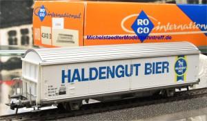 """Roco 4340D Bierwagen """"Haldengut Bier"""", (14694)"""