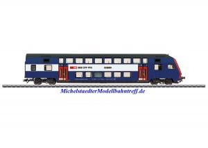 (Neu) Märklin 43575 Doppelstock-Steuerwagen,S-Bahn Zürich, Ep.VI,
