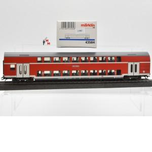 Märklin 43584 Doppelstockwagen 1./2.Kl., DB AG, (21882)