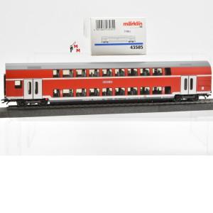 Märklin 43585 Doppelstockwagen 2.Kl., DB AG, (21881)