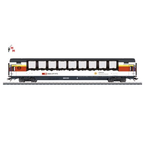 (Neu) Märklin 43652 Personenwagen Gotthard Panorama Express, 1.Kl., SBB, Ep.VI,