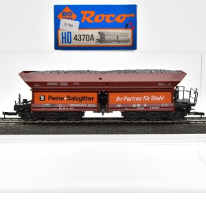 """Roco 4370A Selbstentladewagen der DB, """"Peine Salzgitter"""", (25786)"""