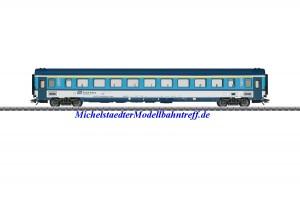 (Neu) Märklin 43762 Reisezugwagen 1.Kl. der Tschechischen Staatsbahn (CD), Ep.IV,