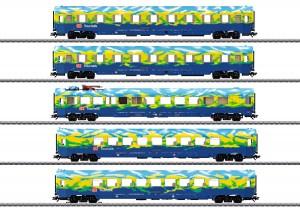 (Neu) Märklin 43878 Touristik-Wagenset, DBAG, Ep.V, MHI,
