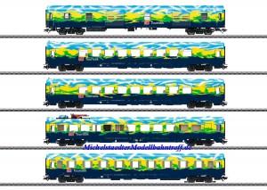 (Neu) Märklin 43879 Touristik-Personenwagen-Set, DB AG, Ep.V, MHI,