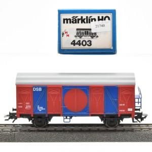 Märklin 4403.10 Ged. Güterwagen der DSB, (21740)