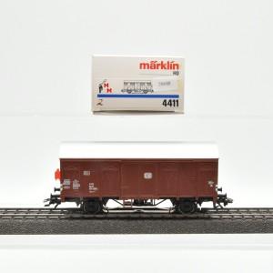 Märklin 4411.2 Gedeckter Güterwagen mit Schlusslicht, (20688)