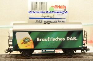 Märklin 4415/2000106 Kühlwagen Braufrisches DAB, (20367)