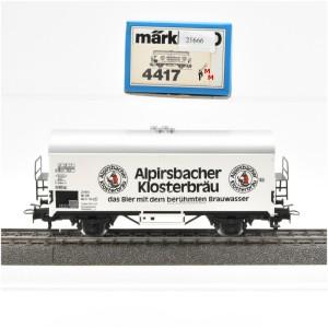 Märklin 4417 Bierwagen Alpirsbacher Klosterbräu, (21666)