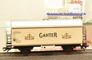 Märklin 44179 Kühlwagen Ganter Bier, (20339)